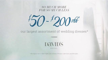 David's Bridal So Much More for So Much Less TV Spot, 'Reflection' - Thumbnail 5