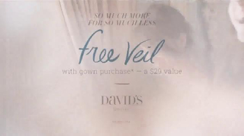 David's Bridal So Much More for So Much Less TV Spot, 'Reflection' - Thumbnail 6