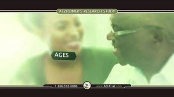TrialReach TV Spot, 'Alzheimer's Research Study' - Thumbnail 3