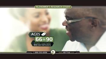 TrialReach TV Spot, 'Alzheimer's Research Study' - Thumbnail 4