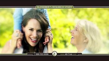 TrialReach TV Spot, 'Alzheimer's Research Study' - Thumbnail 5