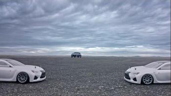 Lexus RC 350 Super Bowl 2015 TV Spot, 'Let's Play: Precision Drifting' - Thumbnail 3