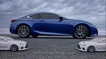 Lexus RC 350 Super Bowl 2015 TV Spot, 'Let's Play: Precision Drifting' - Thumbnail 4