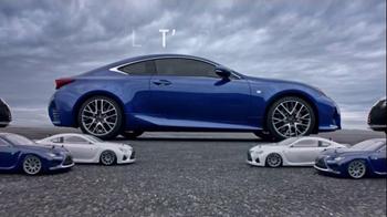 Lexus RC 350 Super Bowl 2015 TV Spot, 'Let's Play: Precision Drifting' - Thumbnail 5