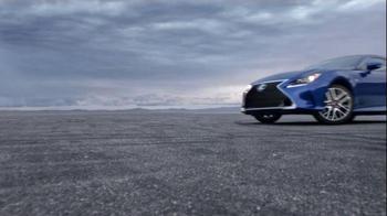Lexus RC 350 Super Bowl 2015 TV Spot, 'Let's Play: Precision Drifting' - Thumbnail 7