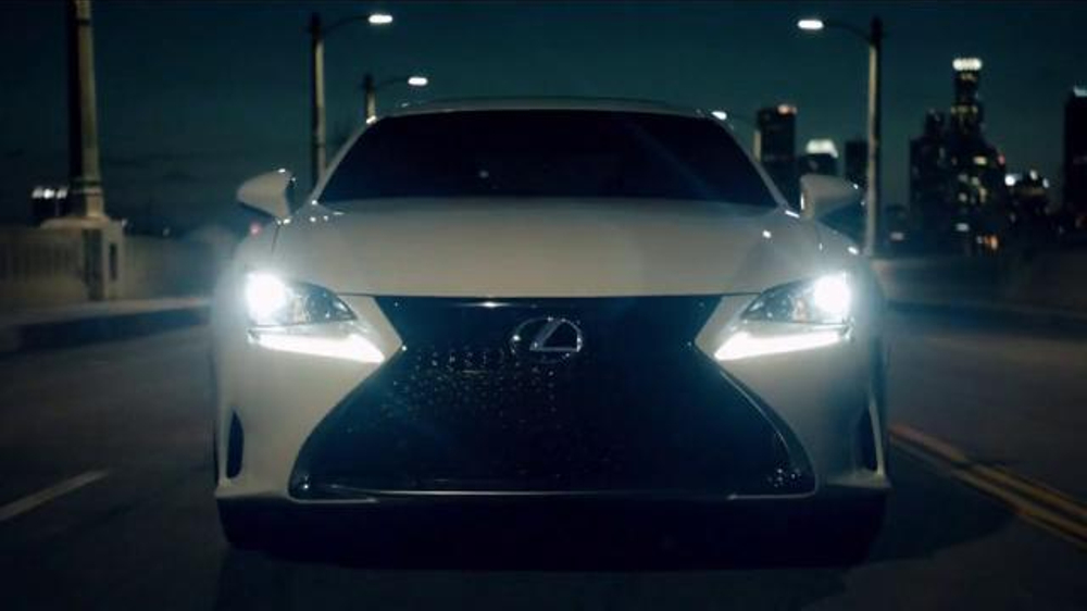 Lexus Rc Coupe Super Bowl 2015 Tv Commercial Featuring Wes Bentley
