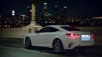 Lexus RC Coupe Super Bowl 2015 TV Spot Featuring Wes Bentley - Thumbnail 9