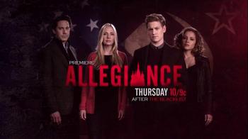 Allegiance Super Bowl 2015 TV Promo - Thumbnail 5