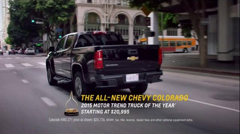 2015 Chevrolet Colorado Super Bowl 2015 Postgame TV Spot, 'Theme Song' - Thumbnail 10