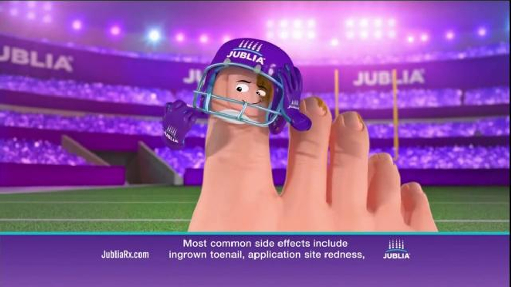 Jublia Super Bowl 2015 TV Commercial, \'Tackle Toe Fungus\' - iSpot.tv
