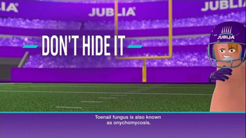 Jublia Super Bowl 2015 TV Spot, 'Tackle Toe Fungus' - Thumbnail 2
