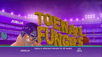 Jublia Super Bowl 2015 TV Spot, 'Tackle Toe Fungus' - Thumbnail 3
