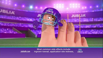 Jublia Super Bowl 2015 TV Spot, 'Tackle Toe Fungus' - 2456 commercial airings