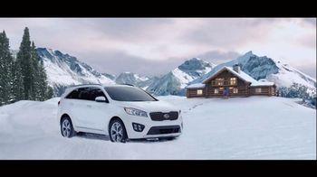 2016 Kia Sorento Super Bowl 2015 TV Spot, 'The Perfect Getaway'