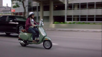 Chevrolet Super Bowl 2015 TV Spot, 'Driving to a Different Tune: Moped' - Thumbnail 4