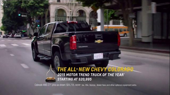 Chevrolet Super Bowl 2015 TV Spot, 'Driving to a Different Tune: Moped' - 5 commercial airings