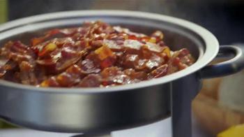 Jack in the Box Loaded Breakfast Sandwich TV Spot, 'Tu Buffet' [Spanish] - Thumbnail 3
