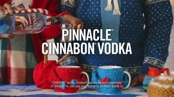 Pinnacle Cinnabon Vodka TV Spot, 'Sweater Weather Swirl' - Thumbnail 2