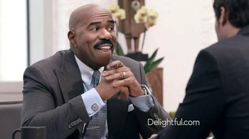 Delightful.com TV Spot, 'What Kind of Person to Meet' Feat. Steve Harvey - Thumbnail 4