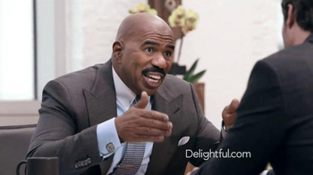 Delightful.com TV Spot, \'What Kind of Person to Meet\' Feat. Steve Harvey
