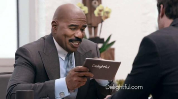 Delightful.com TV Spot, 'What Kind of Person to Meet' Feat. Steve Harvey - Thumbnail 7