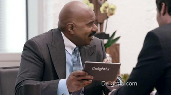 Delightful.com TV Spot, 'What Kind of Person to Meet' Feat. Steve Harvey - Thumbnail 8