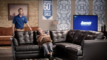 Aaron's 60th Anniversary Sale TV Spot, 'Wakes You Up' - Thumbnail 2