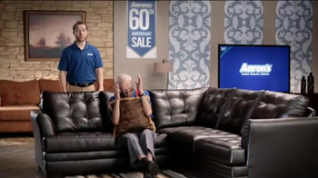 Aaron's 60th Anniversary Sale TV Spot, 'Wakes You Up' - Thumbnail 3