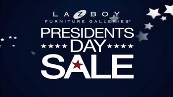 La-Z-Boy Presidents Day Sale TV Spot, 'Legendary' - Thumbnail 2