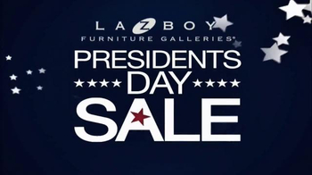 La-Z-Boy Presidents Day Sale TV Spot, 'Legendary' - Thumbnail 8