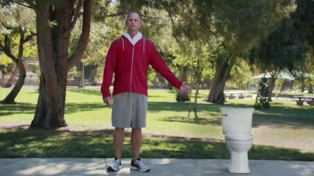 American Standard VorMax Toilet TV Commercial, Skid Marks