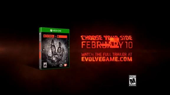 Evolve TV Spot, 'Official Live Action Trailer: Ready or Not' - Thumbnail 6