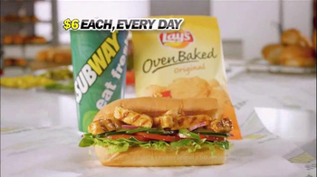 Subway Simple Six Menu TV Spot, 'Start With a Great Sandwich' - Thumbnail 8