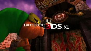 Nintendo 3DS XL TV Spot, 'The Legend of Zelda: Majora's Mask 3D' - Thumbnail 1