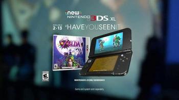 Nintendo 3DS XL TV Spot, 'The Legend of Zelda: Majora's Mask 3D' - Thumbnail 10