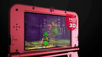 Nintendo 3DS XL TV Spot, 'The Legend of Zelda: Majora's Mask 3D' - Thumbnail 3