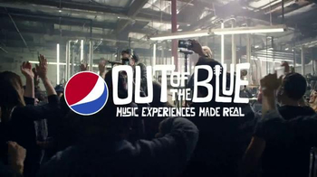 Pepsi TV Spot, 'Out of the Blue Record Release' Featuring Fall Out Boy - Thumbnail 6
