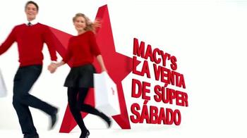 Macy's Venta de Súper Sábado TV Spot, 'Pasan Ahorros' [Spanish] - Thumbnail 2