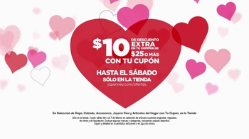 JCPenney Venta del Súper Sábado TV Spot, 'Día de San Valentín' [Spanish] - Thumbnail 4