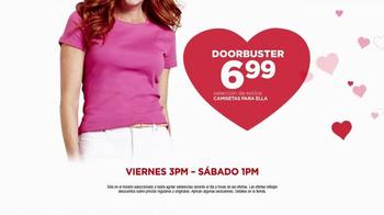 JCPenney Venta del Súper Sábado TV Spot, 'Día de San Valentín' [Spanish] - Thumbnail 5
