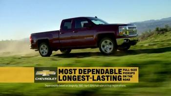 2015 Chevrolet Silverado TV Spot, 'Dependability' Song by Kid Rock - Thumbnail 1