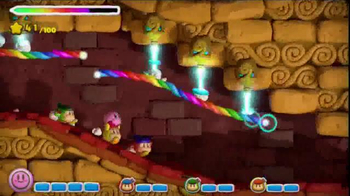 Nintendo Kirby and the Rainbow Curse TV Spot, 'Gotta Get Greative' - Thumbnail 4