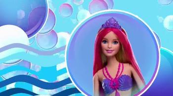 Barbie Bubble-Tastic Mermaid Dolls TV Spot, 'Make a Splash' - Thumbnail 3