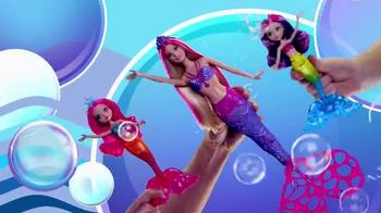 Barbie Bubble-Tastic Mermaid Dolls TV Spot, 'Make a Splash' - Thumbnail 4