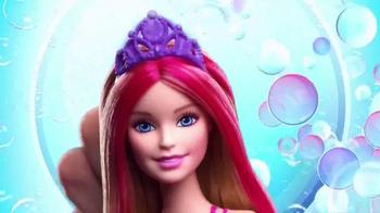 Barbie Bubble-Tastic Mermaid Dolls TV Spot, 'Make a Splash' - Thumbnail 5
