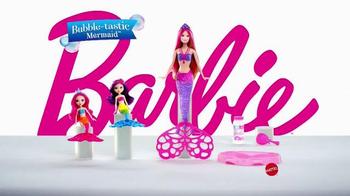 Barbie Bubble-Tastic Mermaid Dolls TV Spot, 'Make a Splash' - Thumbnail 6