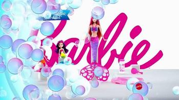 Barbie Bubble-Tastic Mermaid Dolls TV Spot, 'Make a Splash' - Thumbnail 7