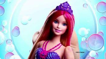 Barbie Bubble-Tastic Mermaid Dolls TV Spot, 'Make a Splash' - 1255 commercial airings