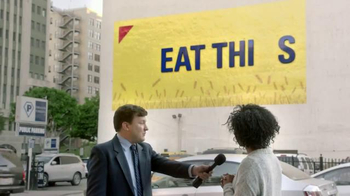 Wheat Thins TV Spot, 'Billboard Falls onto Parked Cars'