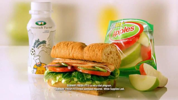 Subway Fresh Fit For Kids Meal TV Spot, 'Mickey Mouse' - Thumbnail 3